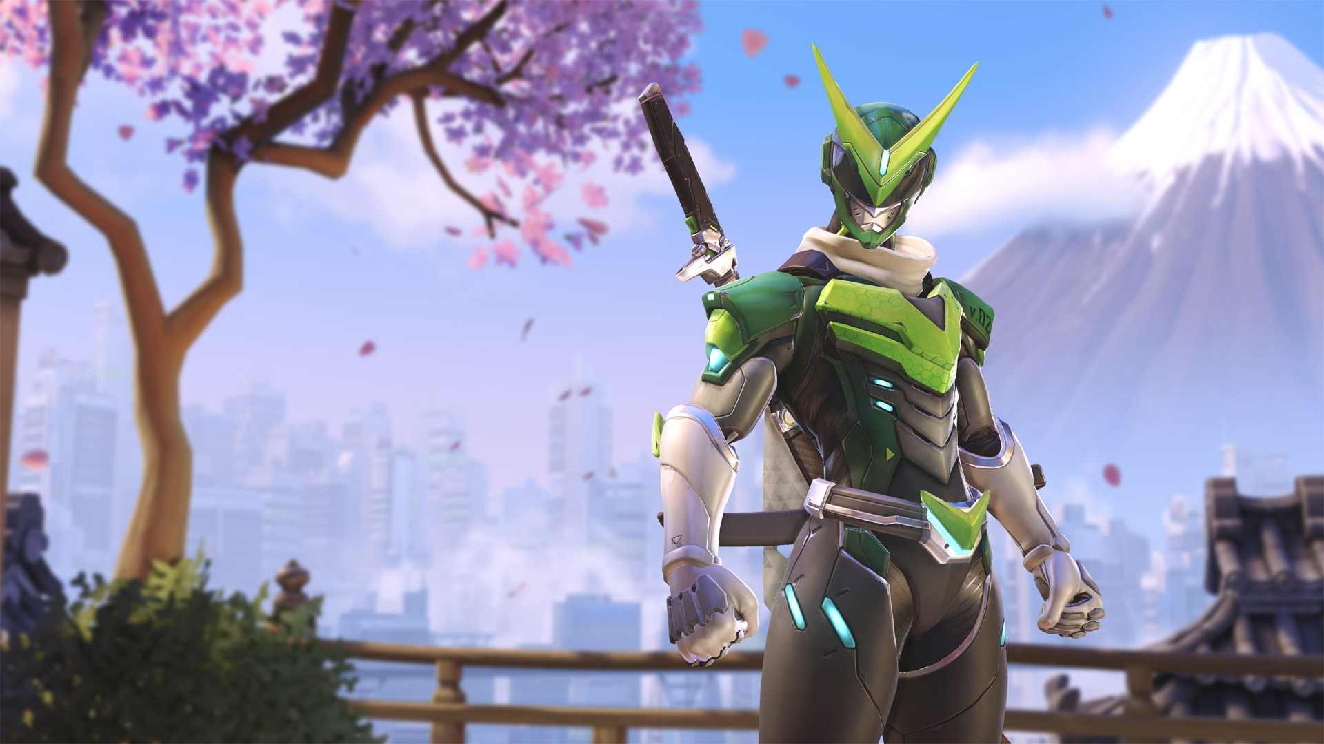 Overwatch Genji Skin Wallpaper Wide Is Cool Wallpapers