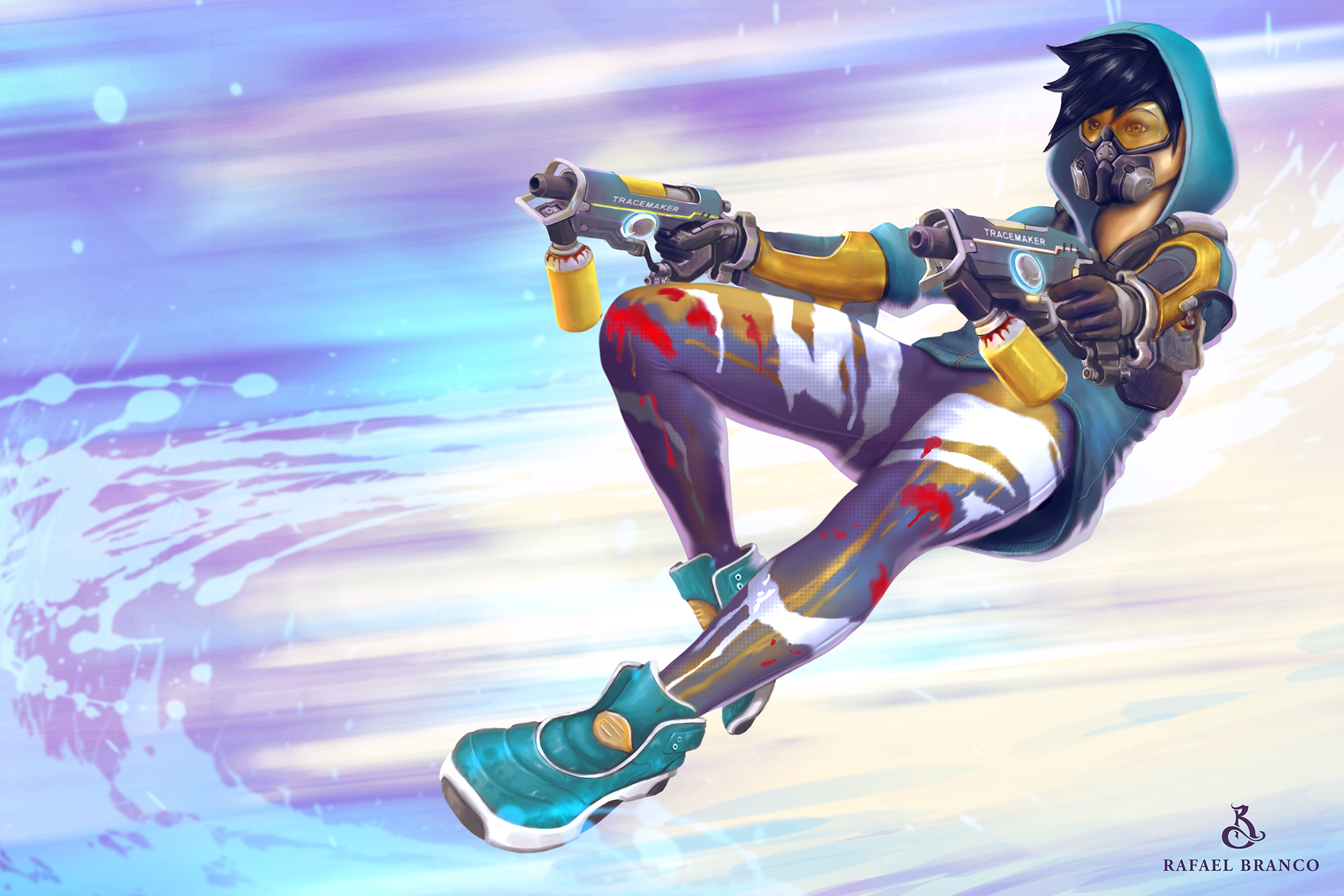 Overwatch Tracer Wallpapers Free Is Cool Wallpapers