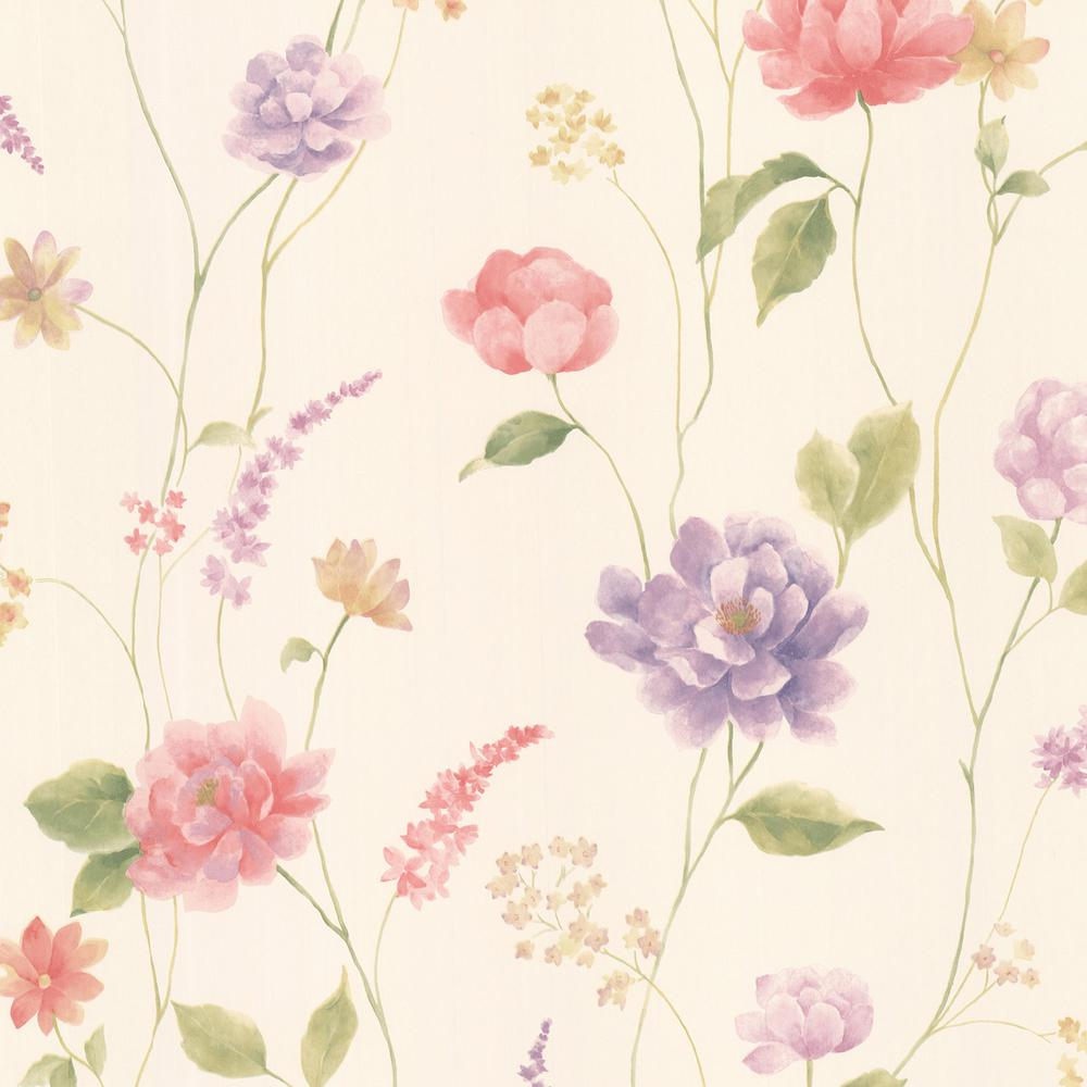 Pink Flower Pattern Wallpapers Widescreen Is Cool Wallpapers