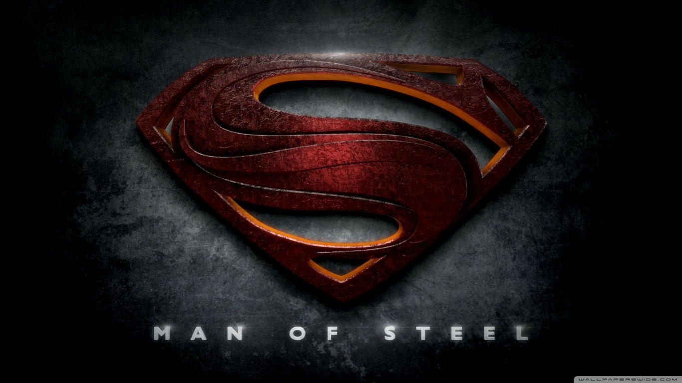 Superman Man Of Steel Logo Image Is Cool Wallpapers