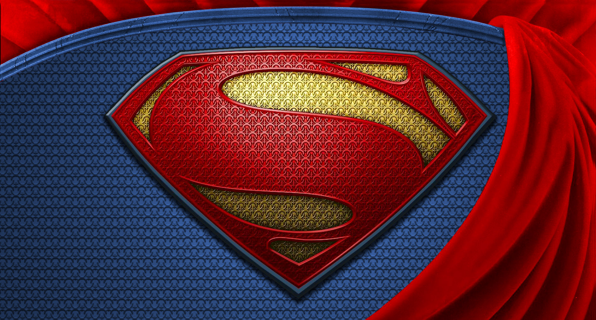 Superman Man Of Steel Logo Wallpapers Widescreen Is Cool Wallpapers
