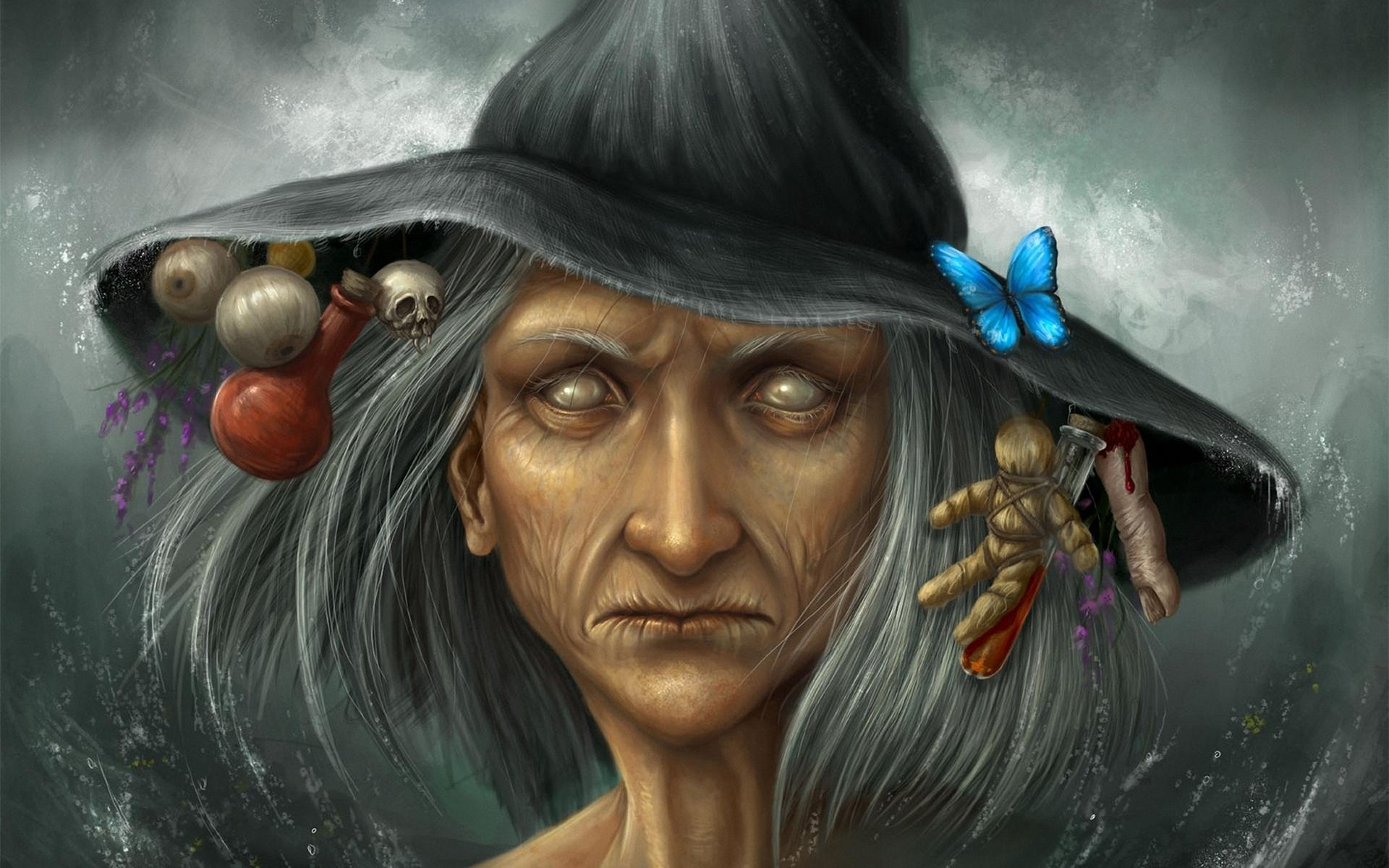 Vintage Halloween Witch Wallpaper High Quality Is Cool Wallpapers