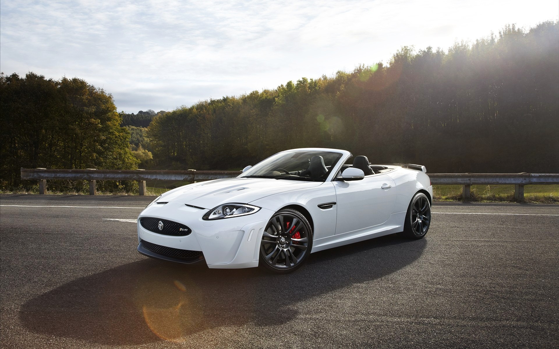 White Jaguar Car Wallpaper High Quality Is Cool Wallpapers