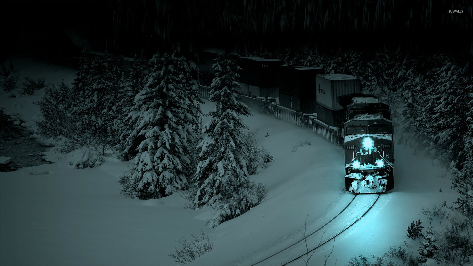 Winter Night Wallpaper Picture Is Cool Wallpapers